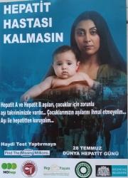 HEPATİT HASTASI KALMASIN posterleri